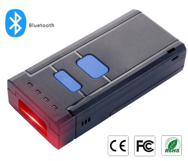 bolso sem fio bluetooth 4 0 leitor de codigo de barras 1d scanner de codigo de