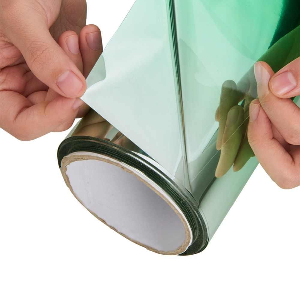 สีเขียวสีรถฟิล์มกระจกรถยนต์ฟิล์มรถพลังงานแสงอาทิตย์หน้าต่างฟอยล์ฟิล์มห่อสติกเกอร์