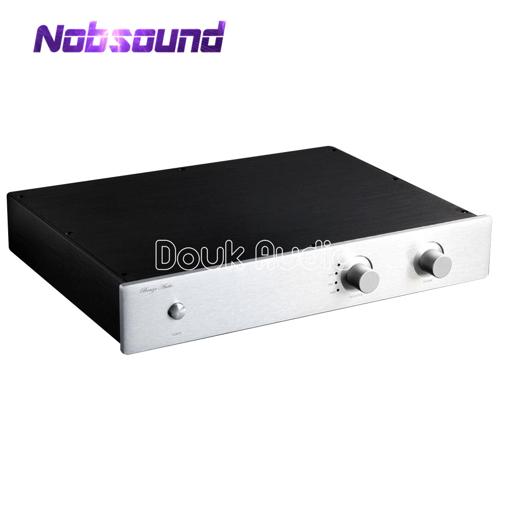 Preamplifier Chassis Aluminum Case DIY Enclosure Flat type Box For AudiophilePreamplifier Chassis Aluminum Case DIY Enclosure Flat type Box For Audiophile
