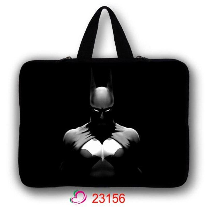 Imperméable à l'eau 7.9 10.1 tablet cas 11.6 13.3 14.4 ordinateur sac Batman 17.3 housse D'ordinateur Portable 15.6 Ordinateur Portable Sac à main LB-23156