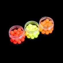 30Pcs/Box Three Colors flutuador boia EPS Buoyancy Ball fishing float Diameter 12mm floats for fishing peche accesoires flotteur