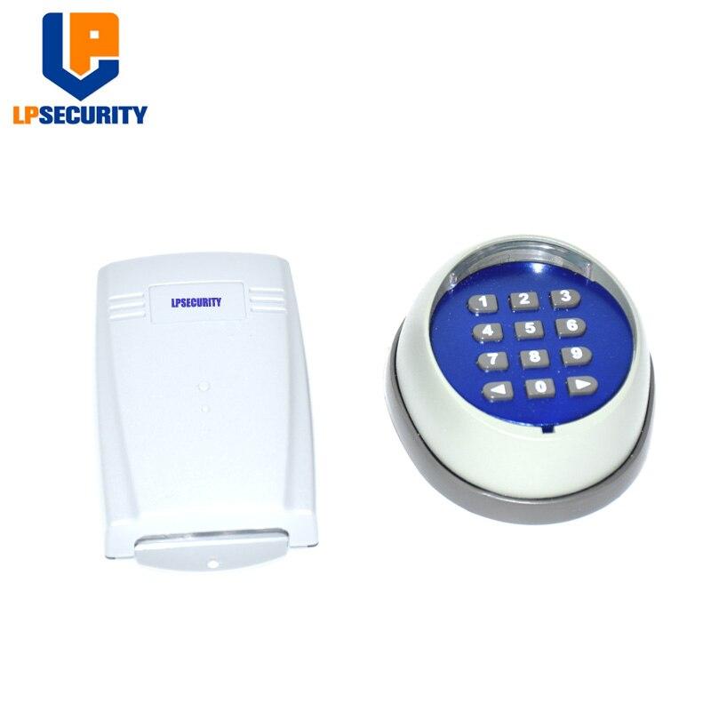 LPSECURITY ドアロックアクセス制御ワイヤレスキーパッドパスワードスイッチキットゲートモータアクセス制御  グループ上の セキュリティ & プロテクション からの アクセスコントロール キーパッド の中 1