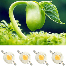 High Power 10pcs 3w 45mil 700mA White Full Spectrum 380~780nm SMD LED Bead Diodes Light  For Plant Grow