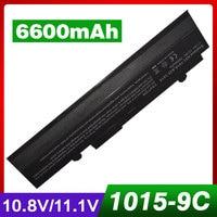 10.8V/11.1V 6600mAh Laptop Battery A32 1015 for Asus A31 1015 AL31 1015 PL32 1015 for Eee PC 1011 1015 1016 1016P 1215 R011 R051