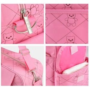 Image 5 - Insular Mommy Bag for Baby Stroller Bag Waterproof Diaper Bag for Mom Multifunctional Maternity Bags Travel Durable Nursing Tote