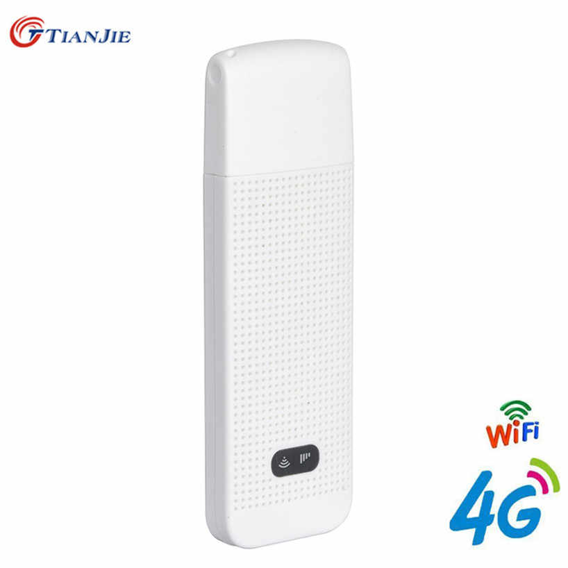 4G USB Wifi Router With Sim Card Slot Mini Dongle Wireless Car Mobile Repeater Hotspot Unlocked Wi Fi Modem Stick Date Card