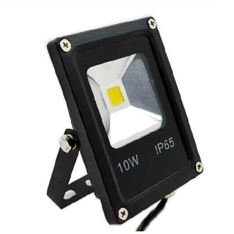 2017 New LED Flood Light 10W LED Outdoor Lighting Waterproof Floodlight Reflector LED COB Chip led exterieur foco led exterior