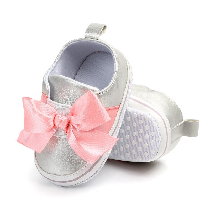 Spring Baby Girls Shoes Flower First Walkers Toddler Infant Sneakers Newborn Autumn Soft Sole Non-Slip PU Leather Shoes