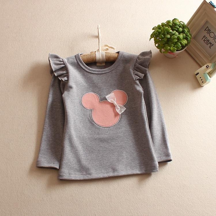 Fashion Style Toddler Қыздар футболка Top Pattern - Балалар киімі - фото 2
