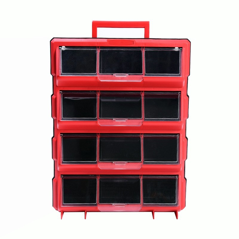 Wall-mounted Combination Toolbox Storage Box Multi-grid Drawer Thicken Parts Box High Quality Tool Case