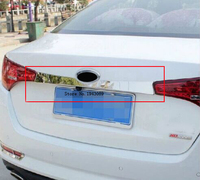 2011 2012 2013 For kia K5 Optima Chrome Rear Trunk Lid Cover Trim 2012 2013