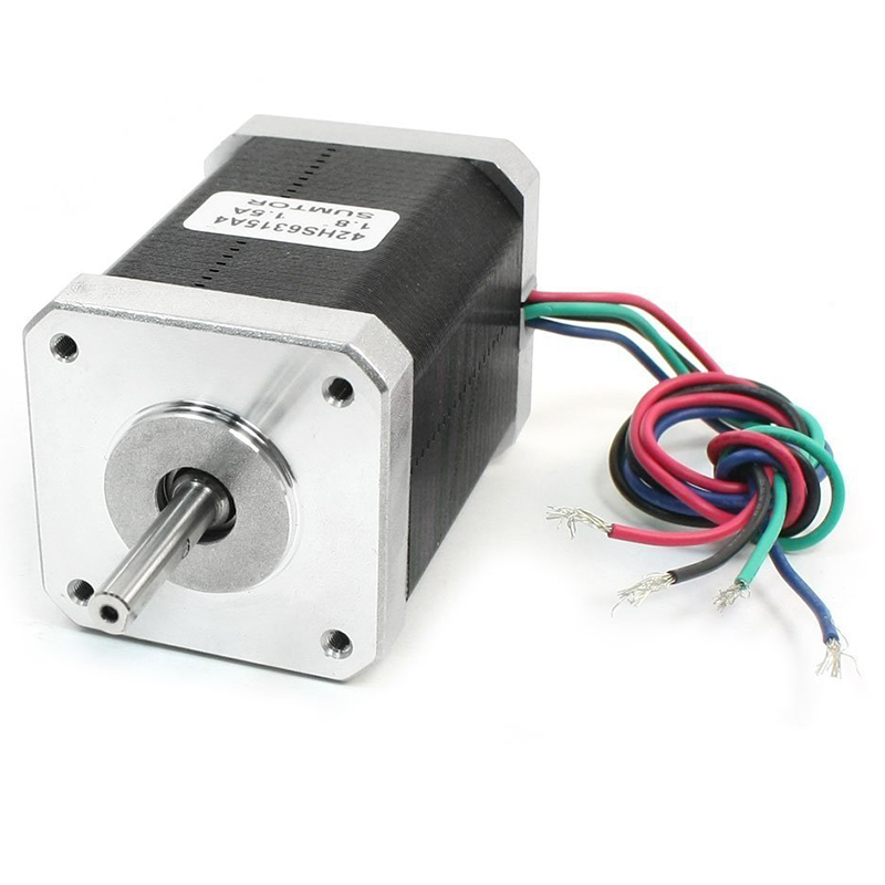 NEMA 17 2 Phase Mill Robot Lathe CNC Stepper Motor 48mm 1.5A 107oz.inNEMA 17 2 Phase Mill Robot Lathe CNC Stepper Motor 48mm 1.5A 107oz.in