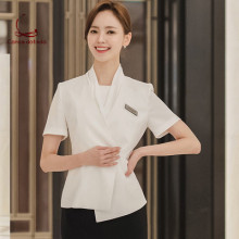 Spring and summer professional womens suits Korean medical beauty salon guide front desk manager work clothes