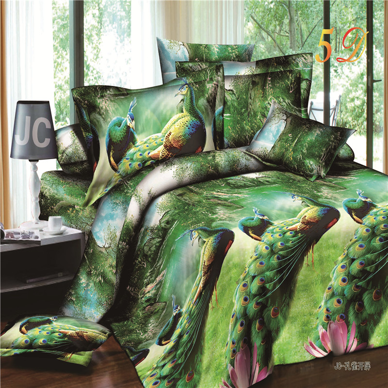 Perfect Have A Good Night 2016 New Product 3d Bedding Set Queen Size Peacock  Designer Bedclothes Duvet Cover Bed Sheet Pillowcases. In Bedding Sets From  Home ...