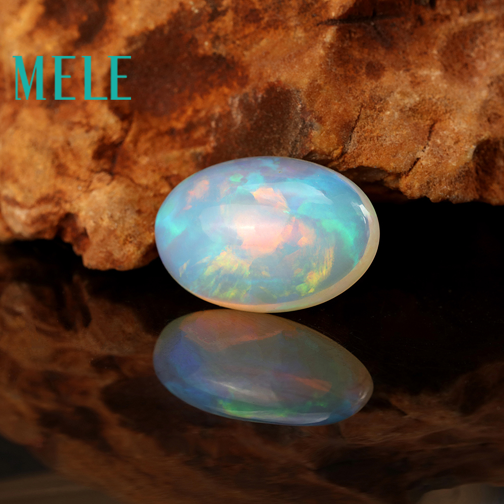 Natural white Oval cut 19X13X7mm 9.5ct opal for jewelry making,colorful fire DIY loose gemstone fire granny 2018 11 20t20 00