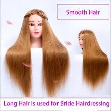 26inch Blond Hair Mannequin Head Hairdressing Hairstyle For Hairdresser Training Dummy Doll Mannequins Sale