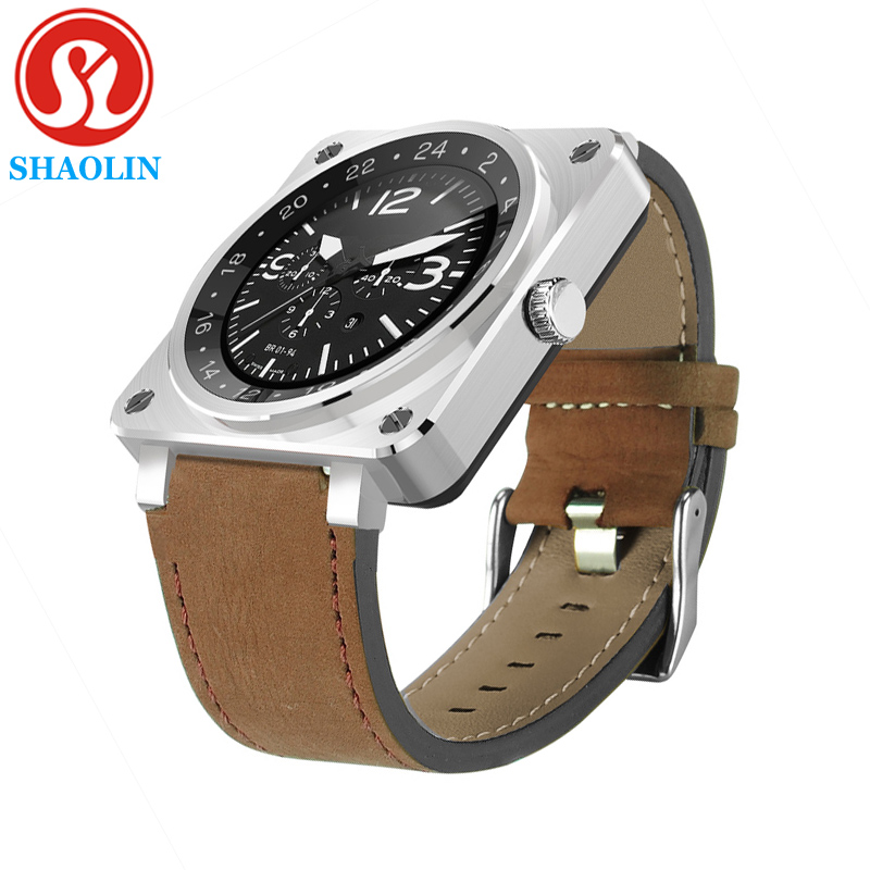 SHAOLIN Smart Watch Heart Rate Monitor Luxury Bluetooth SmartWatch Watches Wearable Devices Fitness Tracker For IOS Android f2 smart watch accurate heart rate statistics i bluetooth watch compatible android smart wearable ios system