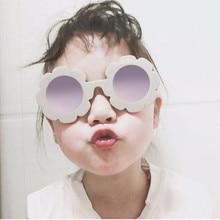 2018 Sun Flower kids sunglasses boys girls Round UV400 glasses sunglasses children Lovely