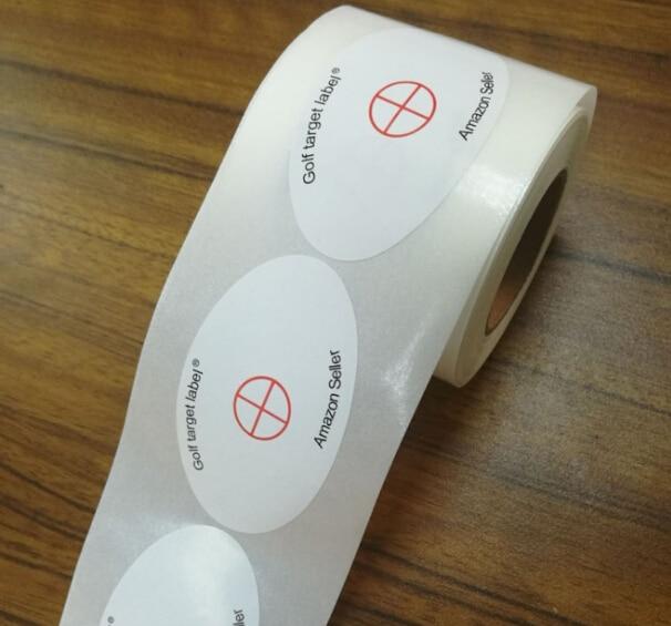 Купить с кэшбэком Record Practice Golf Training Sport Golf Impact Labels Target Sticker Tape Pack of 250PCS Modern Golf Clubs Stickers