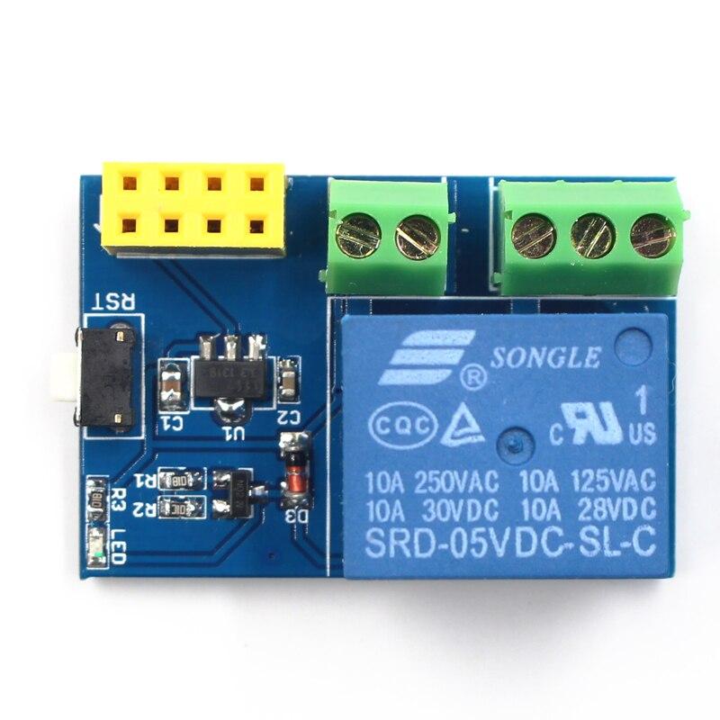 ESP8266 ESP-01S wifi Relay Module Remote Switch Phone APP DIY Project Design Kit compatible for arduino 1 pc esp 01s esp8266 serial wifi wireless transceiver modele esp 01 updated version