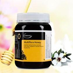 الأصلي NewZealand Comvita متعدد النباتات العسل 1 kg سوبر قسط العسل ل صحة الجهاز الهضمي التنفسي السعال تهدئة الحلق