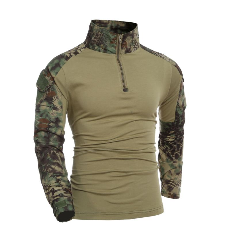 2017 new design male camouflage polo shirt army combat for Army design shirts online