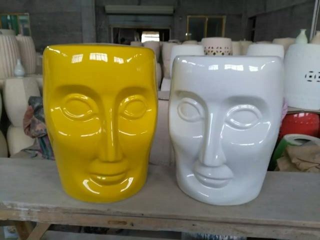 Sgabello Da Giardino In Ceramica : Oro cinese gres porcellanato smaltato ceramica giardino seduta