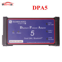 Factory Price DPA5 Dearborn Protocol Adapter 5 24V Diesel Heavy Duty Scanner Without Bluetooth Support Multi-language As Nexiq