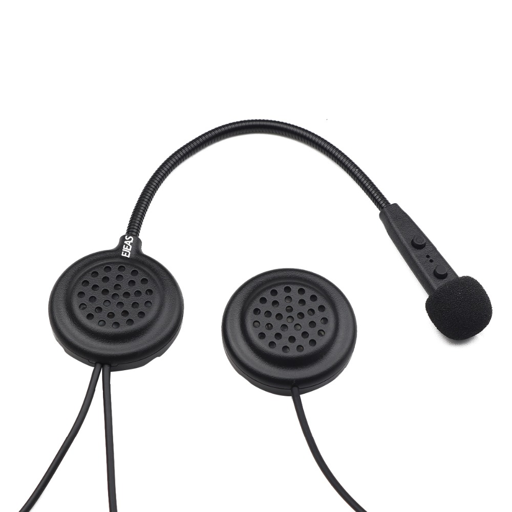 Casque Bluetooth casque Interfone 15 M CSR puce 270 mAh 12Hrs parler Microphone haut-parleur MP3 moto Communication