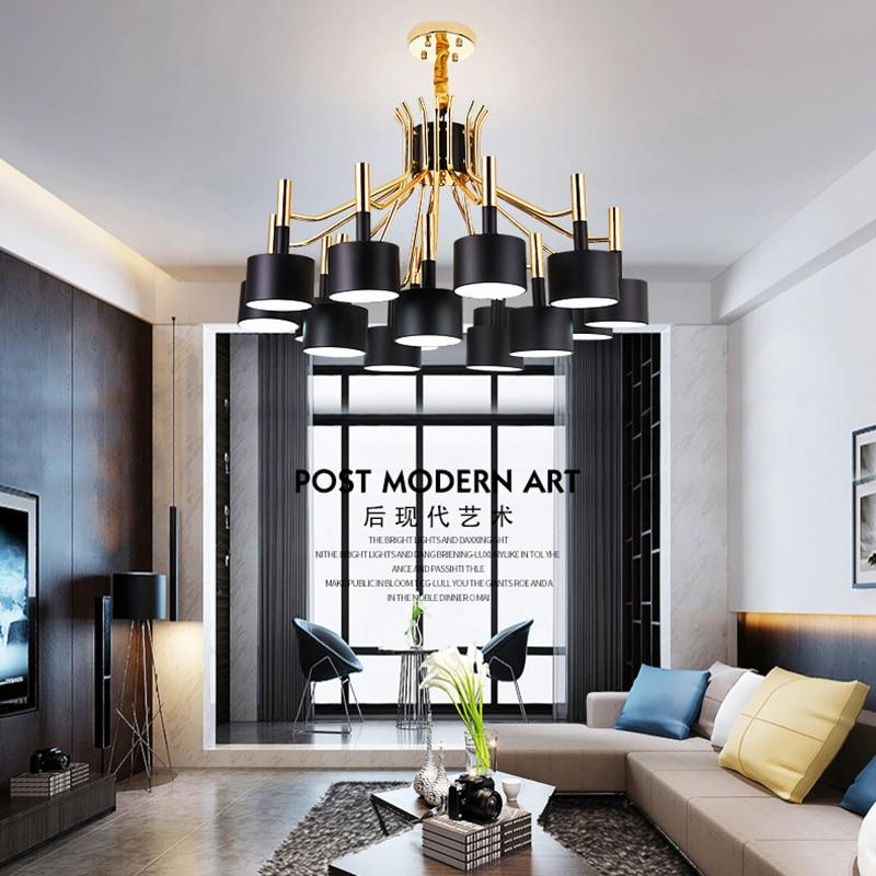 Modern designer decorative chandelier Nordic restaurant luxury hotel|Chandeliers|   - title=