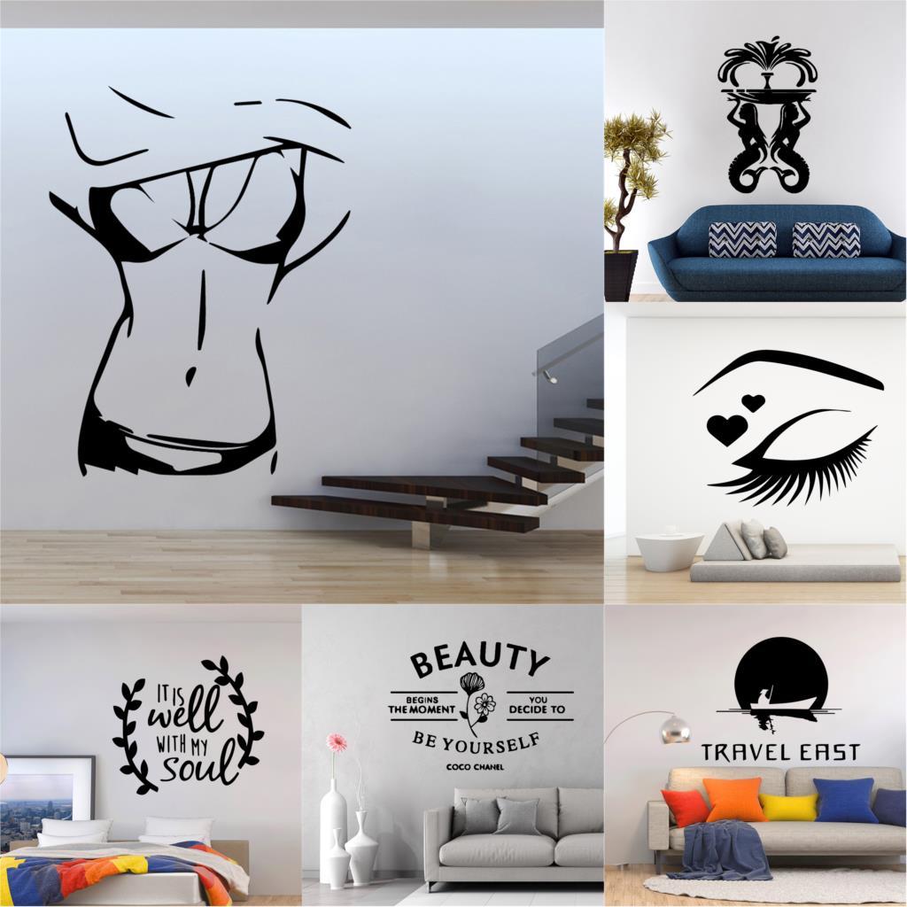 Decal, Sticker, Fountain, Wall, Murals, Background
