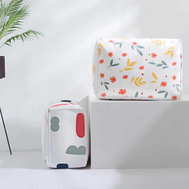 Travel Portable Washable Wardrobe Clothes Storing Bags Large Capacity Folding Duffel Bag