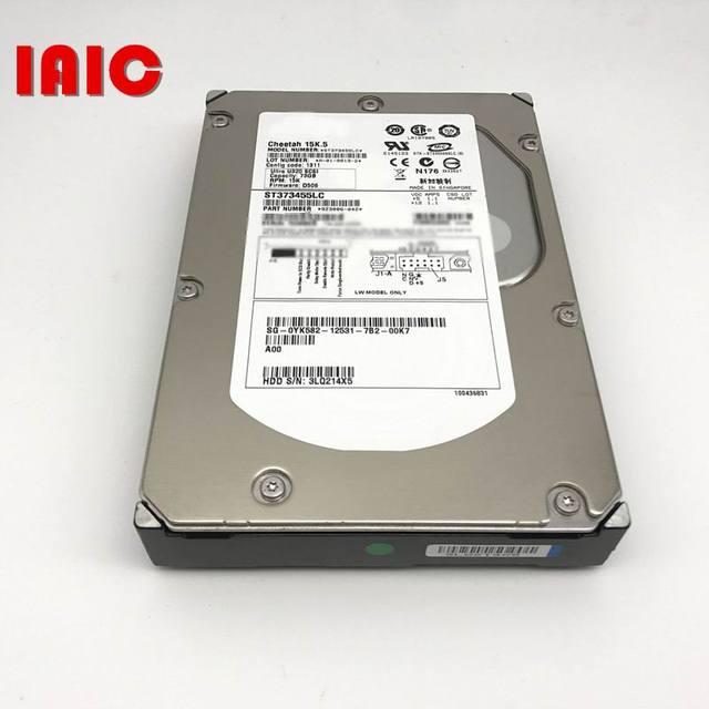 100% جديد في صندوق ضمان 3 سنوات ST373455LC 15K 73G U320 SCSI 80PIN تحتاج إلى المزيد من الصور الزوايا ، يرجى الاتصال بي