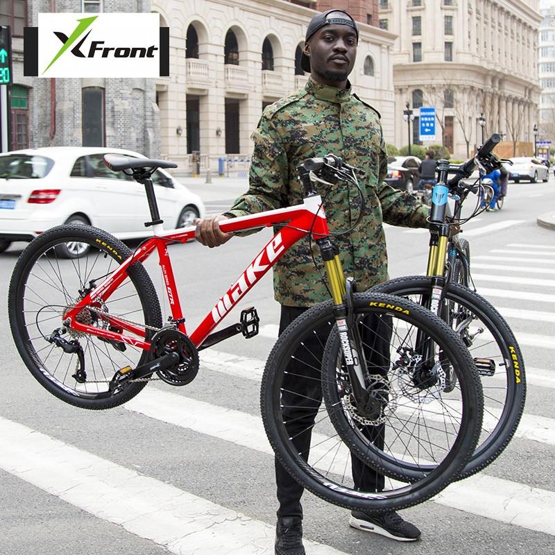 New Brand Mountain Bike Aluminum Alloy Frame 26 inch Wheel Dual Disc Brake Sports Downhill MTB