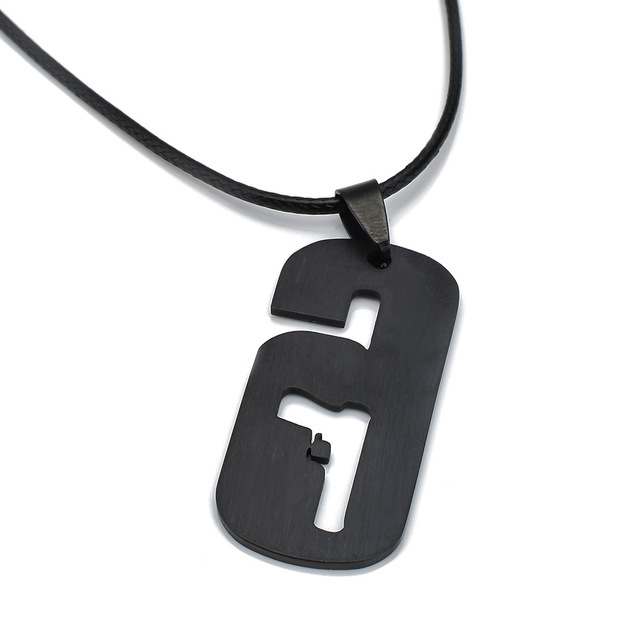 Siege PS4 Game Tom Clancy's Rainbow Six Necklace With Rope Chain