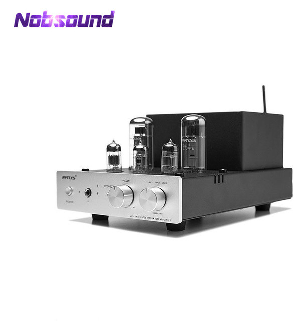 US $279 65 15% OFF|2018 New Nobsound Class AB Push Pull EL34 Vacuum Tube  Amplifier Bluetooth 4 0 Stereo Headphone Amp-in Amplifier from Consumer