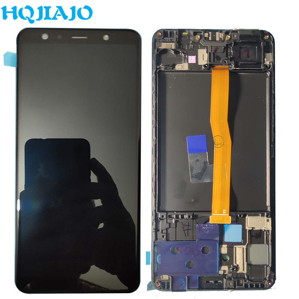 For Samsung A750 LCD Display Touch Screen Digitizer For Samsung Galaxy A7 2018 A750 A750F SM