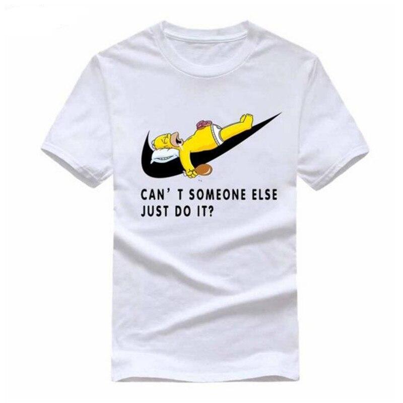 2017 New Letter Print T Shirt Mens Black And White Comic Con Cosplay o neck T-shirts Summer Skateboard Tee Boy Skate Tshirt Tops