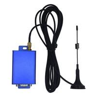 vhf uhf 433MHz 2 ואט UHF UART מודם רדיו נתונים VHF RS232 RS485 Wireless משדר 115200bps משדר ומקלט אלחוטיים (3)