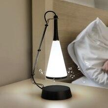 タッチセンサー Led テーブルランプの bluetooth スピーカー USB 充電式デスクランプ主導の研究のための読書ブックライトホーム寝室の照明