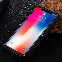 IMATCH Classic Luxury Armor Funda Heavy Duty Shockproof Coque Cover Case For IPhone X 8 Plus