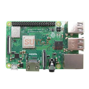 2018 New Original Raspberry Pi 3 Model B+Plus 64-bit BCM2837B0 1GB SDRAM WiFi 2.4/5.0GHz Bluetooth PoE Ethernet PI 3B+PI3 B+Plus