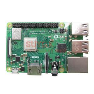 Image 2 - 2018 חדש מקורי פטל Pi 3 דגם B + בתוספת 64 קצת BCM2837B0 1 GB SDRAM WiFi 2.4/ 5.0 GHz Bluetooth PoE Ethernet PI 3B + PI3 B + בתוספת