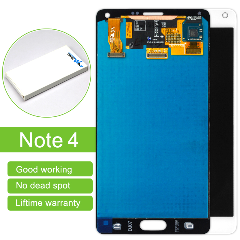 Top Fashion Sale 1 Pcs Lcd Display Touch Screen Digitizer Assembly For Samsung Note 4 N910 N910a N910v Sam981 Free Shipping 100% brand new lcd digitizer touch screen display assembly for samsung galaxy note 4 n910 n910a n910v n910p n910t black or white