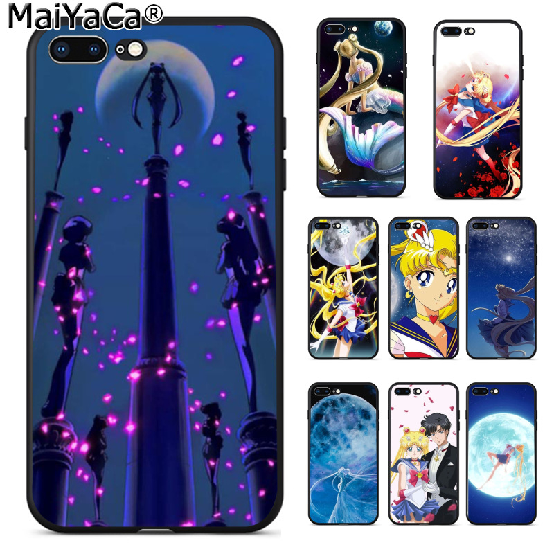 Half-wrapped Case Cellphones & Telecommunications Confident Maiyaca Beautiful Sailor Moon Funny Phone Cover Coque For Apple Iphone 8 7 6 6s Plus X 5 5s Se Xs Xr Xs Max Cover To Make One Feel At Ease And Energetic