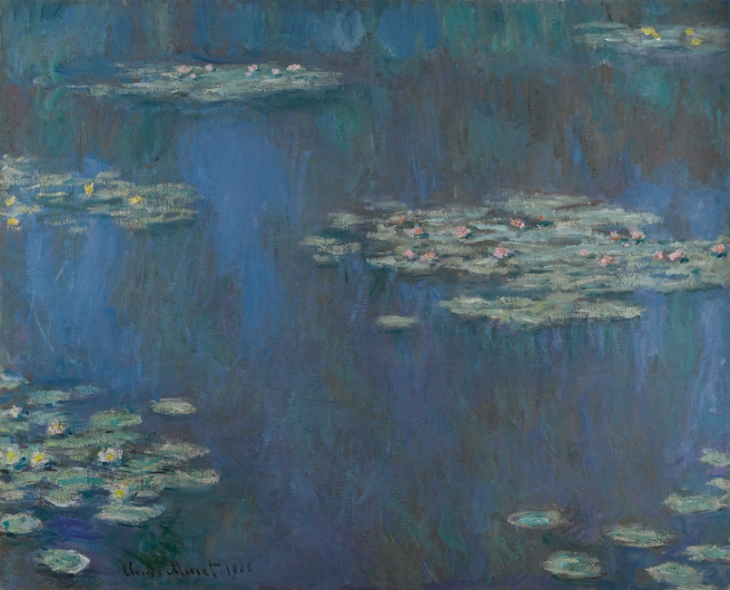 Monet Painting Water Lilies Canvas Art Printed to Home Decoration  Oil Suppiers