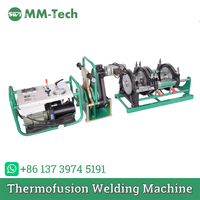 50,63,75,90,110,125,140,160mm Butt Fusion Welding Machine for hdpe pipe