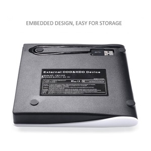 Внешний USB 3,0 высокоскоростной DVD-накопитель, портативный оптический привод для ноутбука, подходит для ПК Win XP WIN 7 WIN 8 WIN 10 MAC OS