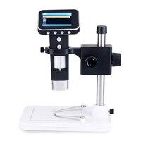 """Draagbare 1000X2.7 """"Digitale Microscoop Lcd scherm Elektronische Endoscoop Vergrootglas met Standaard-in Microscopen van Gereedschap op"""