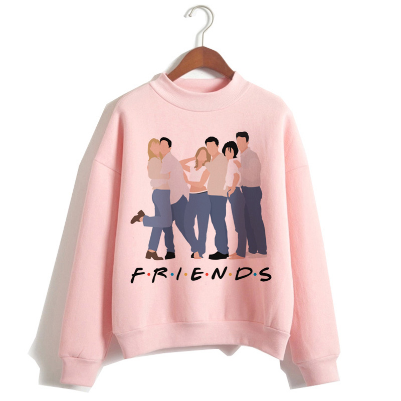 Friend Tv Show Hoodies Womens 2019 Clothing Sweatshirt Top Femme Autumn Winter Cartoon New Harajuku Tee For Female